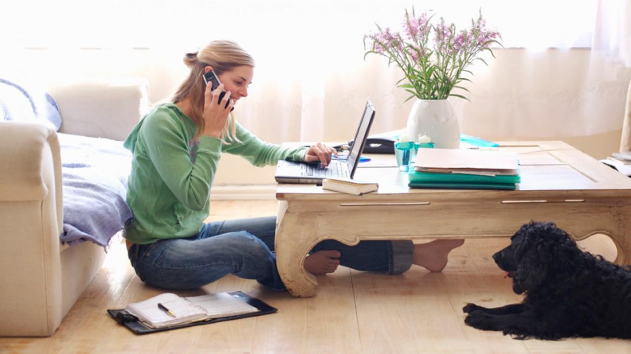 Oito Dicas Para Quem Trabalha Em Casa