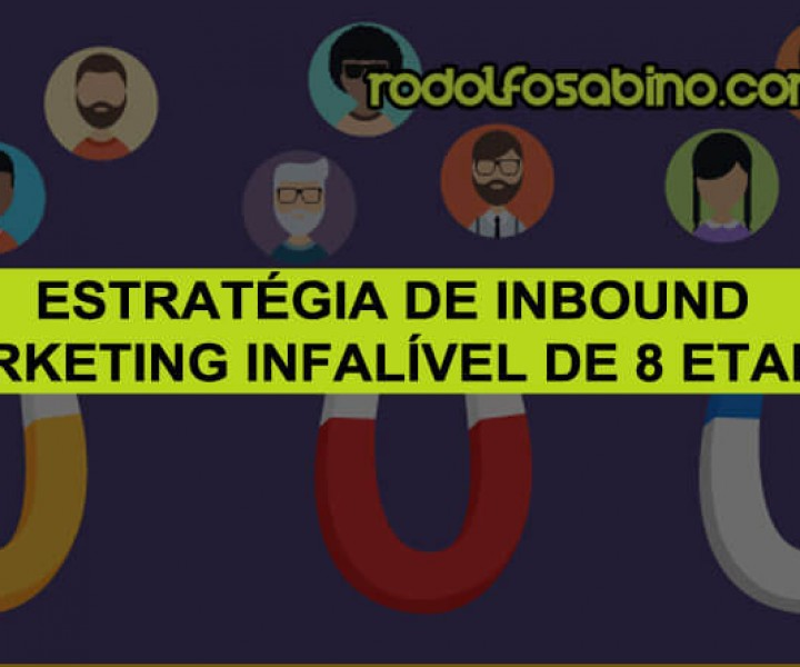 Estratégia de Inbound Marketing Infalível de 8 Etapas