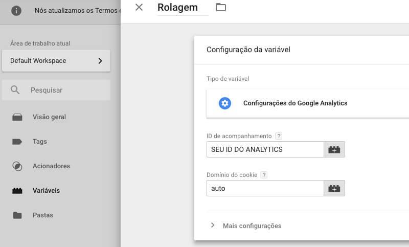 Eliminar Bounce com Rastramento de Rolagem no Google Analytics - 07