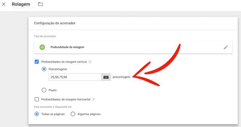 Eliminar Bounce com Rastramento de Rolagem no Google Analytics - 11