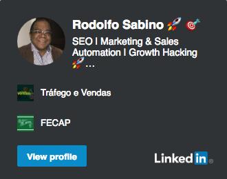 Linkedin Rodolfo Sabino